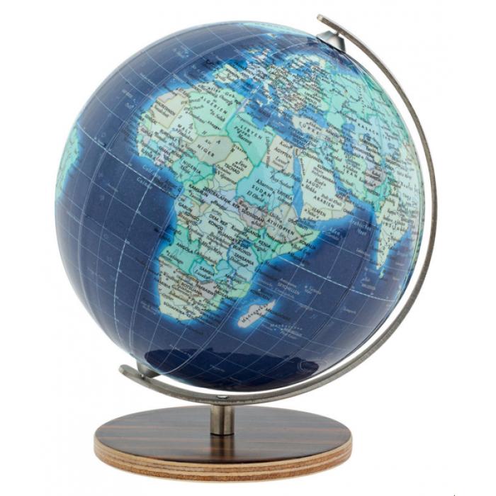 Mini gaublys Columbus Duo Azzurro, 12 cm. skersmens, anglų kalba
