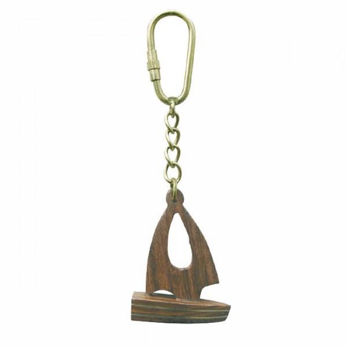 """Medinis raktų pakabukas """"žvejo laivelis"""" SC-1353"""