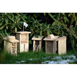Vabzdžių viešbučių rinkinys LIH- 5 namelių miestas