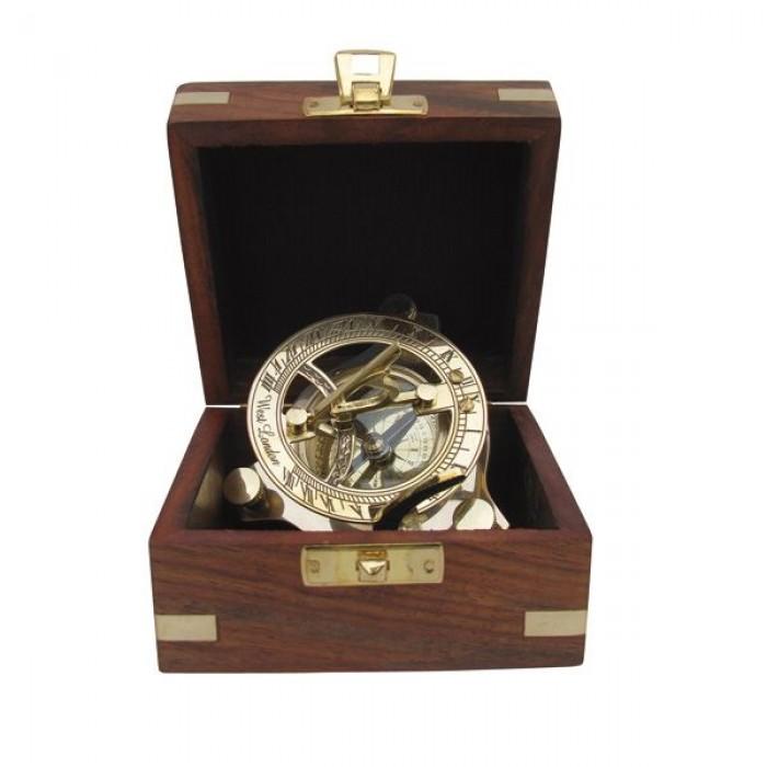 Saulės laikrodis su kompasu SC-9030A