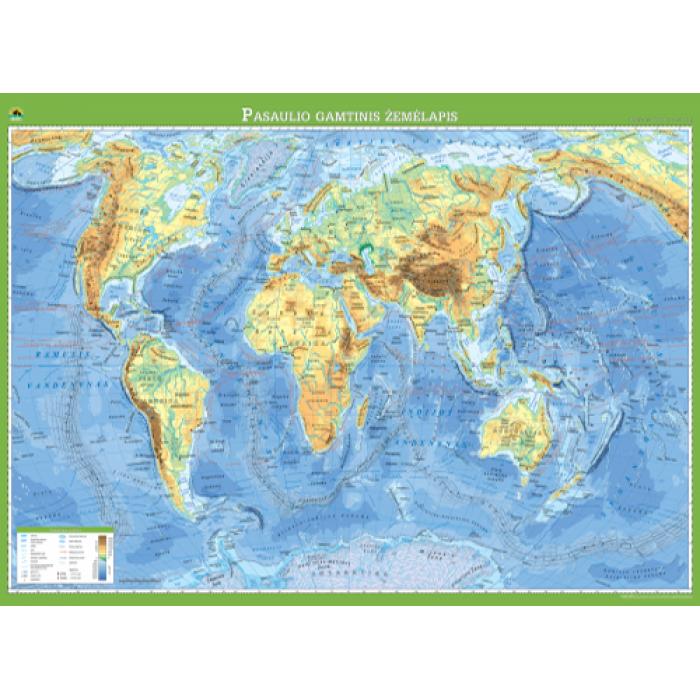 Pasaulio gamtinis žemėlapis