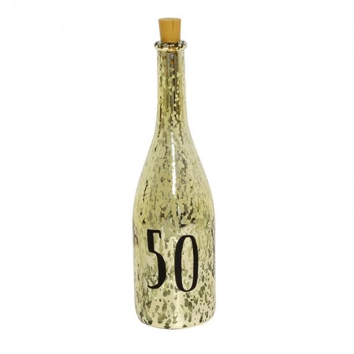 "Dekoratyvinis šampano butelis ""50"""