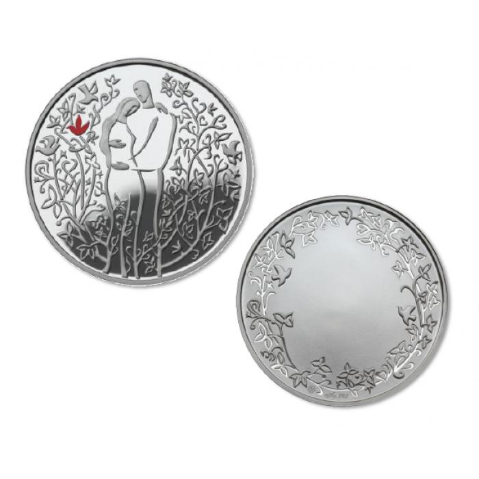 Meilės medalis (sidabrinis)