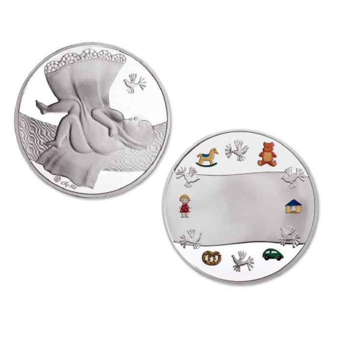 Vaiko medalis (sidabrinis)