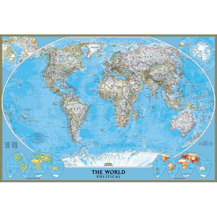 Politinis pasaulio žemėlapis