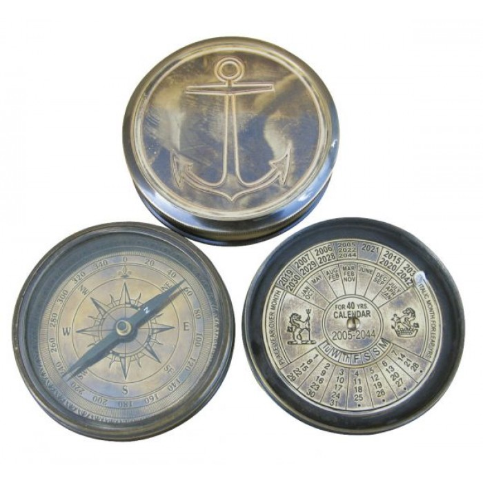 Kompasas ir 40 metų kalendorius SC8526