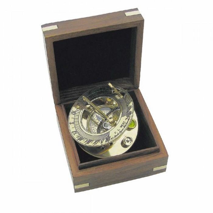 Saulės laikrodis su kompasu SC8237