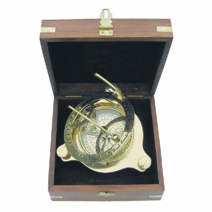 Saulės laikrodis su kompasu SC9030