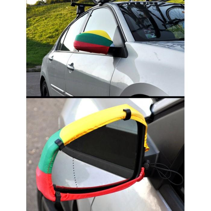 Vėliavėlė ant automobilio veidrodėlių