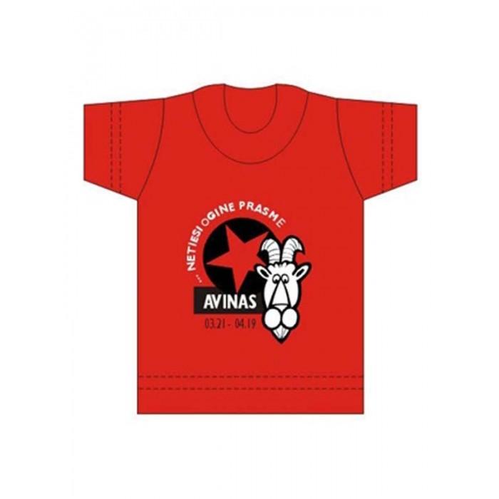 """Suvenyriniai marškinėliai """"AVINAS"""""""