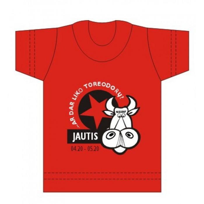 """Suvenyriniai marškinėliai """"JAUTIS"""""""