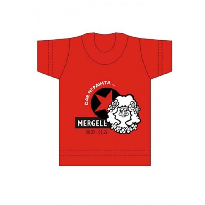 """Suvenyriniai marškinėliai """"MERGELĖ"""""""