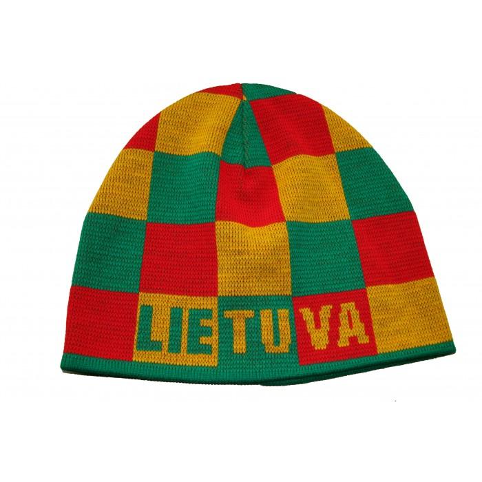 Tautinių spalvu kepurė