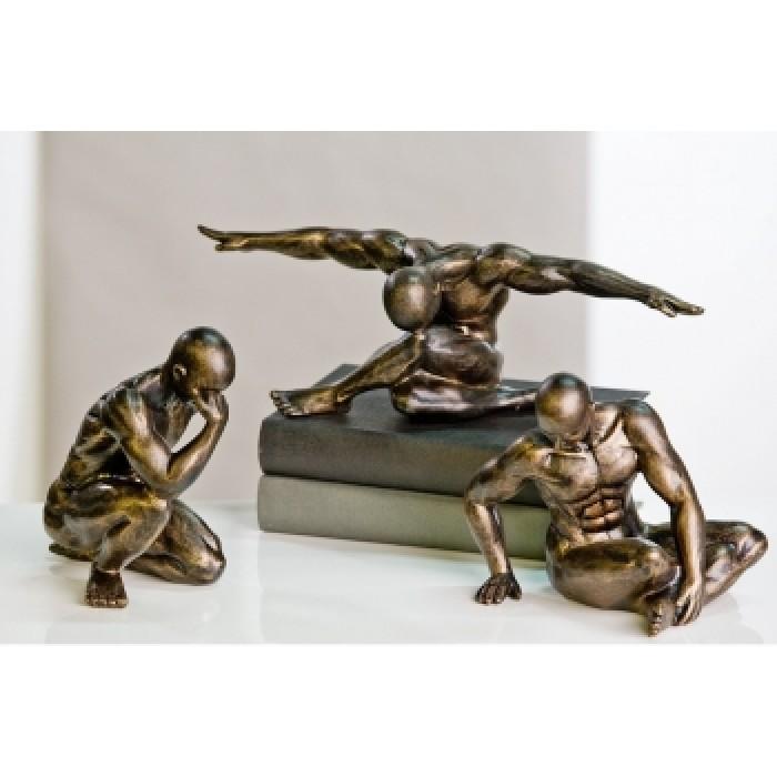 """Statulėlė """"Workout"""", bronzinė"""