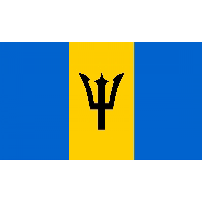 Barbadoso vėliava