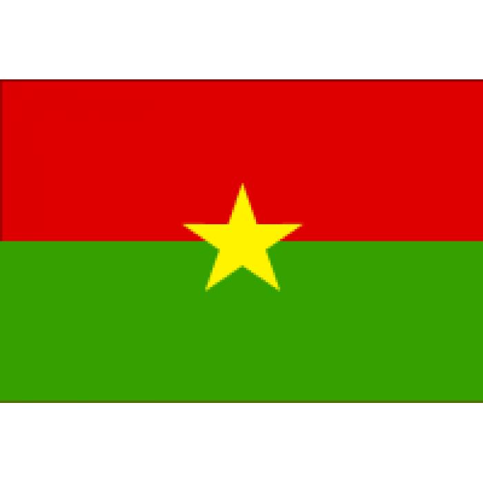 Burkina Faso stalo vėliavėlė