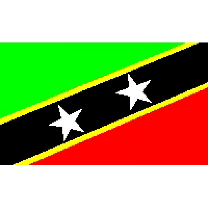 Sent Kitso ir Nevio vėliava