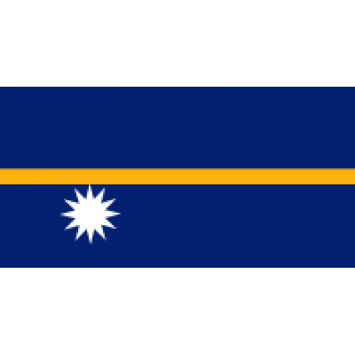 Nauru vėliava