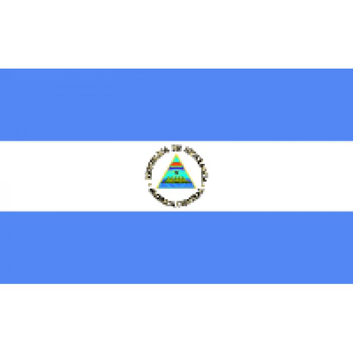 Nikaragvos vėliava