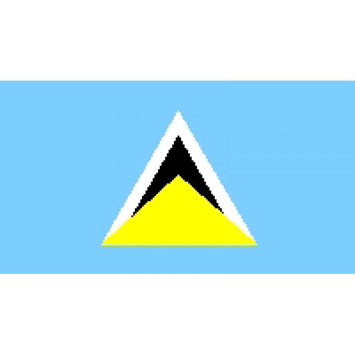 Sent Lusijos vėliava