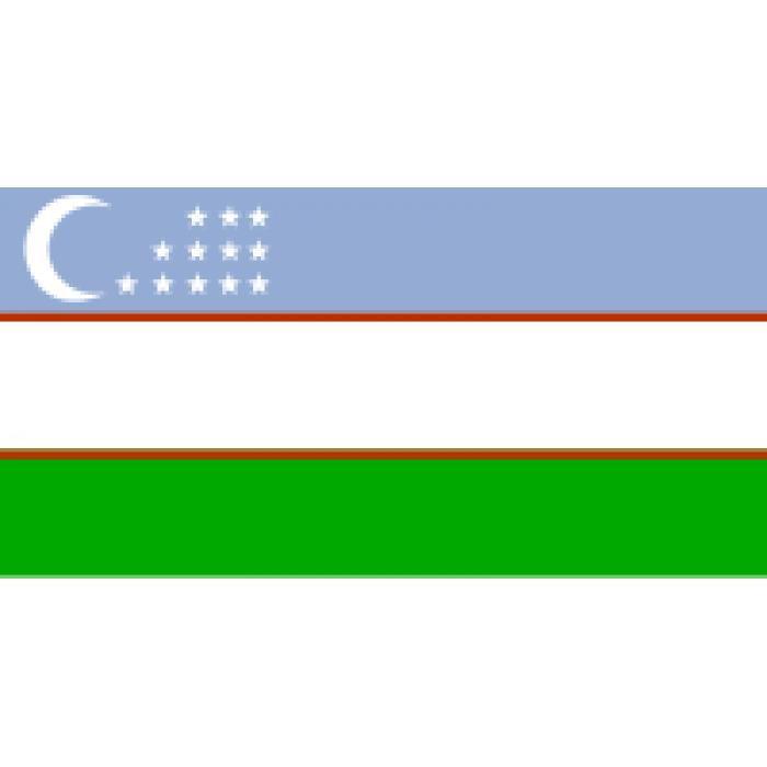 Uzbekijos vėliava