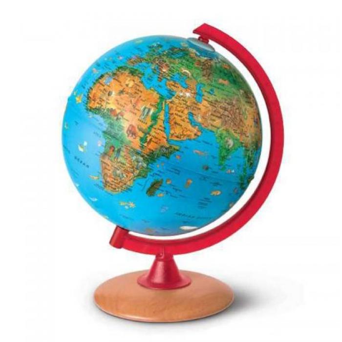 Gaublys ZOO, skersmuo 25 cm, anglų kalba