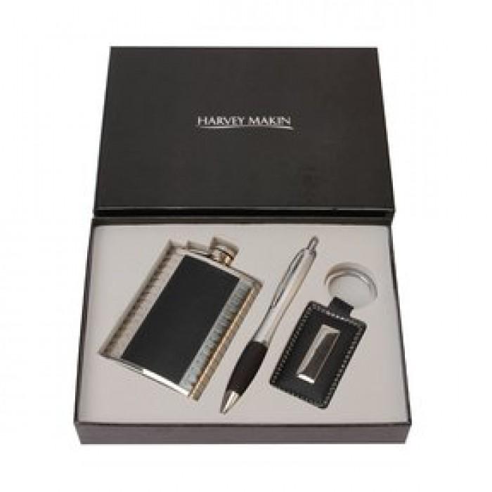 Rinkinys gertuvė+rašiklis+raktų pakabukas HM393, SV-3028405