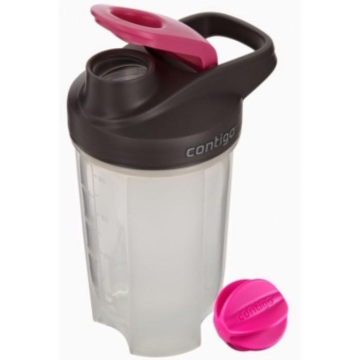 Gertuvė-kokteilinė Contigo Shake & Go Fit baltyminių kokteilių maišymui, 590 ml KR(CON1000-0388)