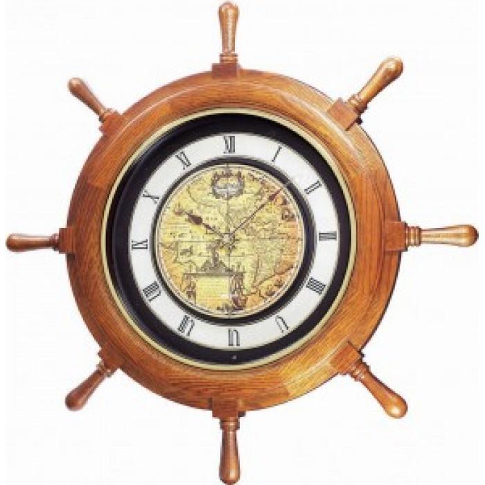 """RHYTHM  sieninis laikrodis """"Laivo vairas"""""""