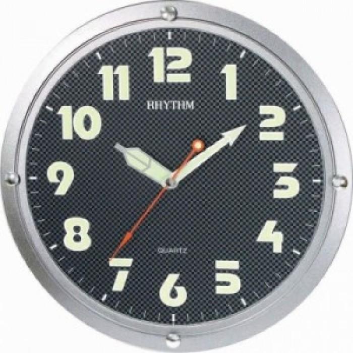 RHYTHM  Sieninis kvarcinis laikrodis pilkas.