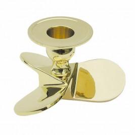 """Nikeliuoto žalvario žvakidė """"Laivo propeleris"""" SC-7013N"""
