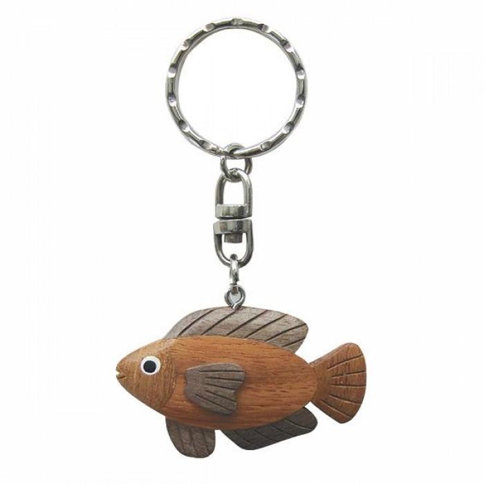 """Medinis raktų pakabukas """"Žuvis"""" SC-1320"""