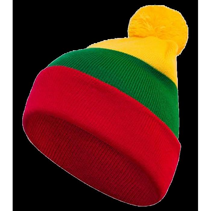 Lietuviškos trispalvės dviguba kepurė