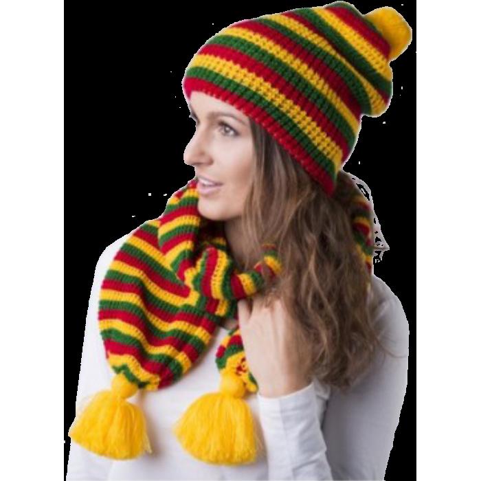 Lietuviškos trispalvės kepurė