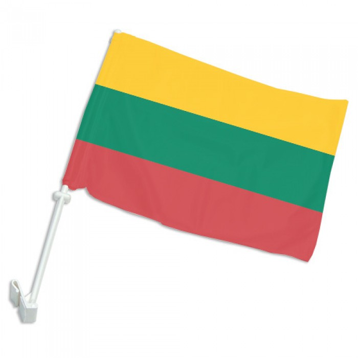 Lietuvos trispalvė automobilinė