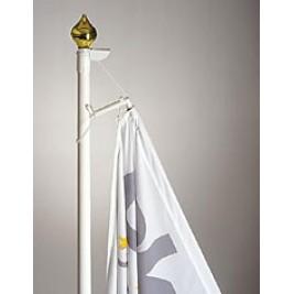 """Svogūno"" formos vėliavos stiebo viršūnė"