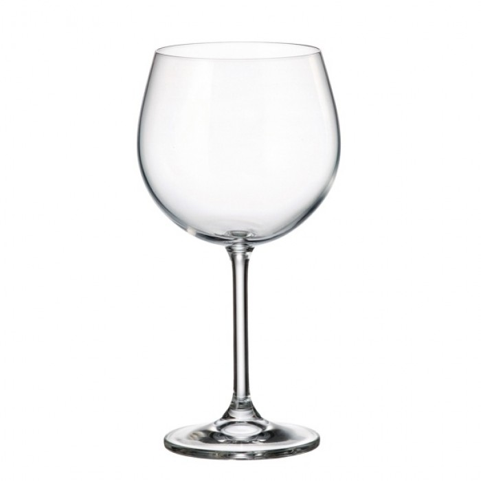 """Taurių rinkinys raudonam vynui 6vnt. """"COLIBRI"""" 570ml Crystalite Bohemia"""